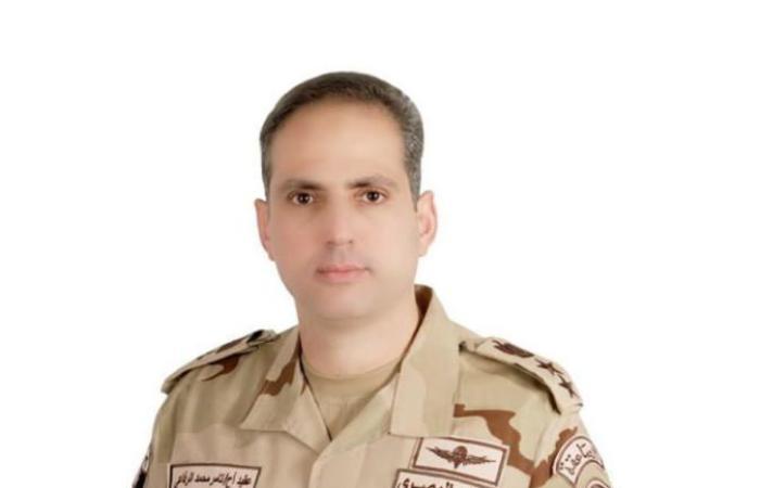 أخبار مصر : المتحدث العسكري: سقوط طائرة مقاتلة للقوات الجوية واستشهاد قائدها