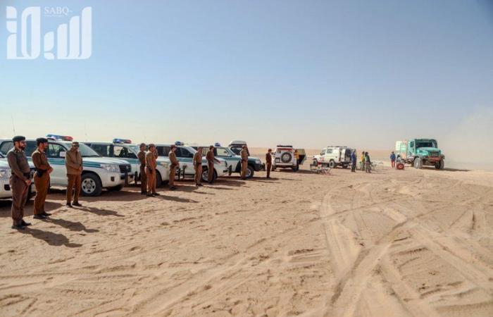 """أخبار العالم : بالصور: """"سبق"""" توثق المرحلة الـ8 لـ""""رالي داكار"""" في وادي الدواسر"""