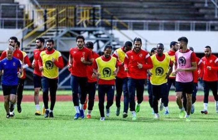 رياضة : الأهلي يواصل استعداداته لـ «المقاولون العرب» دون راحة