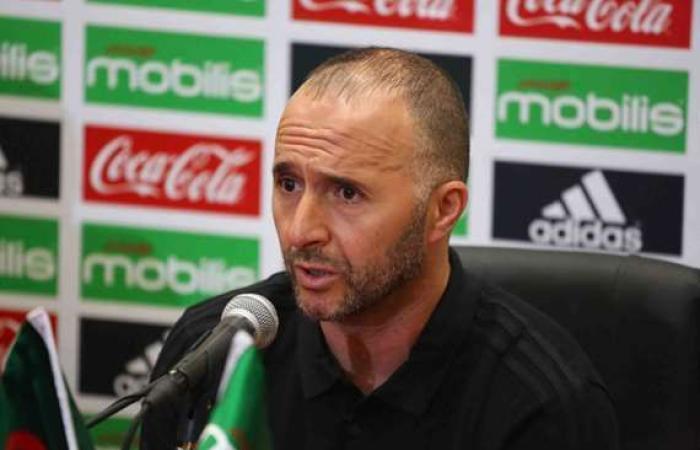 رياضة : «بلماضي»: هدفنا الفوز ببطولة كأس العالم 2022