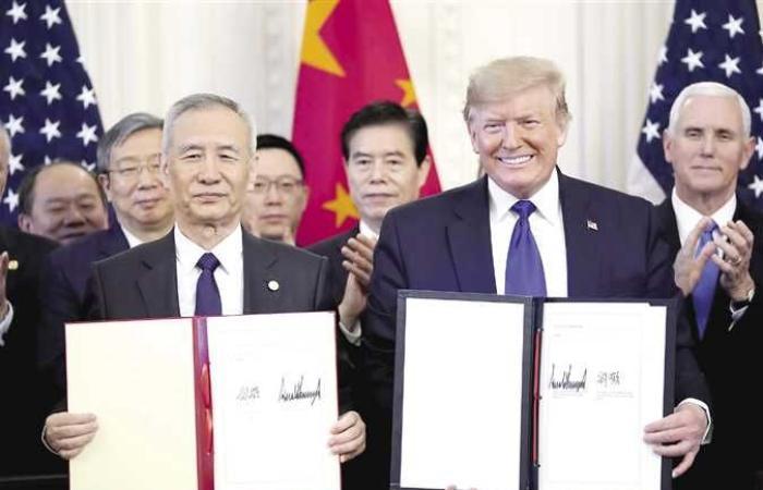 إقتصاد : الاتفاق التجارى الأولى بين أمريكا والصين.. أسئلة مفتوحة.. وتهدئة مؤقتة أم بداية مسار جديد للعلاقات؟