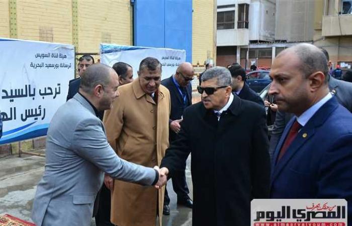 أخبار مصر : الفريق أسامة ربيع يفتتح مركز البيانات الرقمي التبادلي بمدينة بورفؤاد