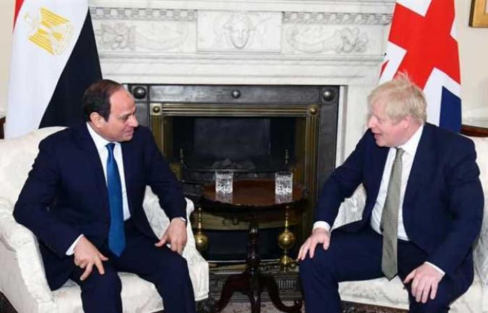 أخبار مصر : السيسي: سعدت بلقاء الأمير وليام ورئيس وزراء بريطانيا