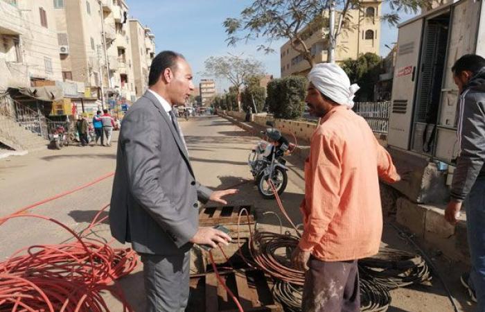 أخبار الحوادث : رئيس مدينة أبشواي يتفقد حملات النظافة ورفع الإشغالات بالمركز