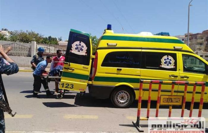 حوادث : مصرع عامل وإصابة 4 آخرين في حادثي سير ببني سويف