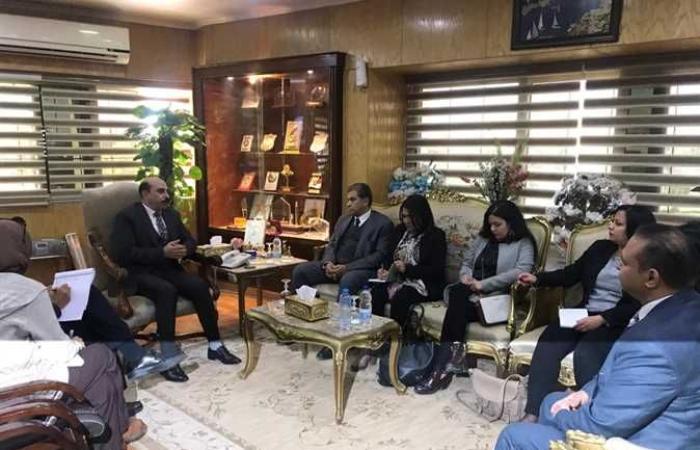 أخبار مصر : وفدا «التخطيط» والوكالة الأمريكية الدولية للتنمية يختتمان جولتهما بأسوان (صور)