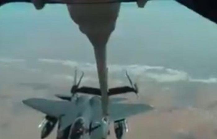 أخبار العالم : شاهد.. طائرة KC-10 تابعة للفرقة 908 لتزويد الطائرات بالوقود في الجو