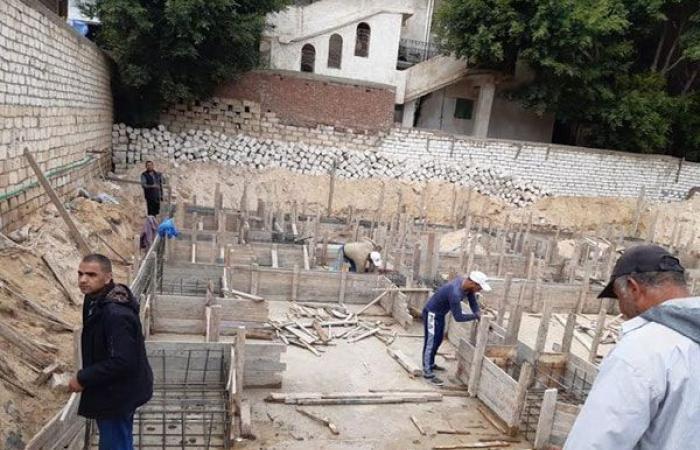 أخبار الحوادث : حملات مكبرة للقضاء على العقارات المخالفة بأحياء الإسكندرية