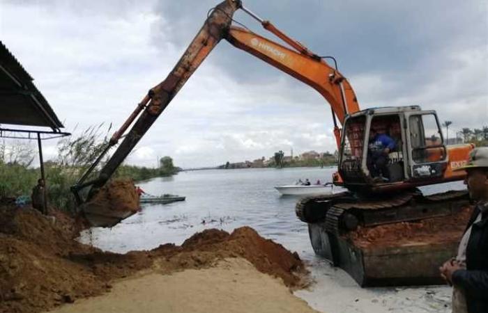 حوادث : إزالة تعديات على 16 ألف متر أراضٍ زراعية وأملاك للدولة في البحيرة