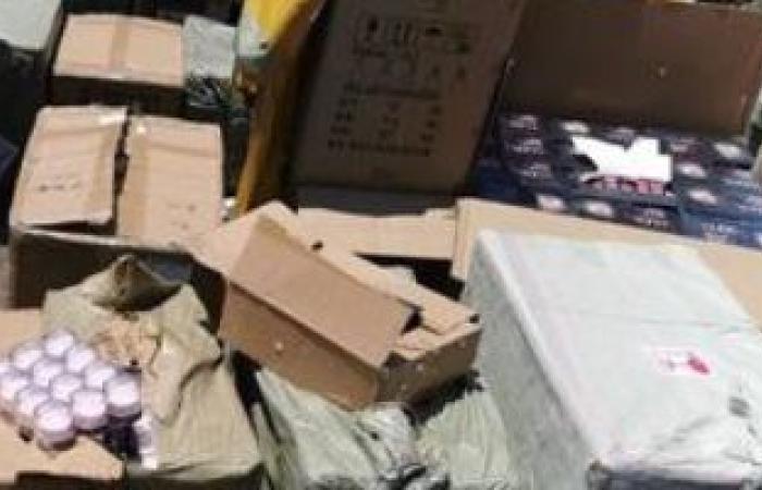 حوادث : صحة الغربية تضبط 13 ألفا و240 عبوة مستحضرات تجميل داخل مخزن بطنطا