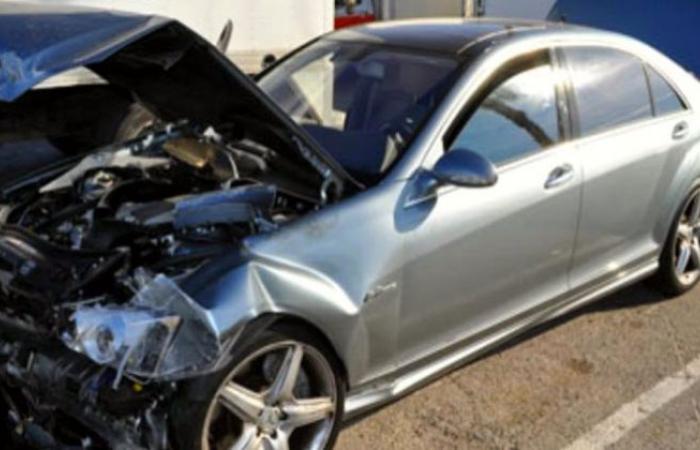 أخبار الحوادث : إصابة 3 أشخاص فى حادث سيارة ملاكى بالطريق الزراعى بطوخ