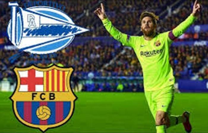 رياضة : بث مباشر | مشاهدة مباراة برشلونة وآلافيس في الدوري الاسباني هدف دون رد ل.ألافيس