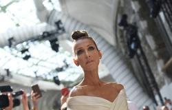 ثقافة وفن : قاومت دموعها.. سيلين ديون تعلن وفاة والدتها على المسرح